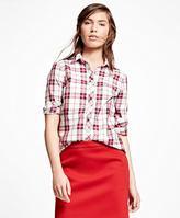 Brooks Brothers Cotton Plaid Shirt