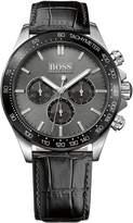 HUGO BOSS Men's Ikon 1513177 Leather Quartz Watch