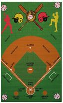 Fun Rugs Fun Time Baseball Field Rug - 3'3'' x 4'10''