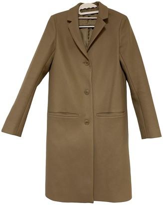 Cos Camel Wool Coats