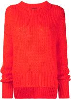 Markus Lupfer knit jumper - women - Acrylic/Polyamide/Mohair - S
