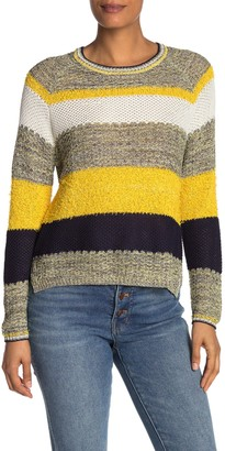 Cotton Emporium Stripe Long Sleeve Sweater
