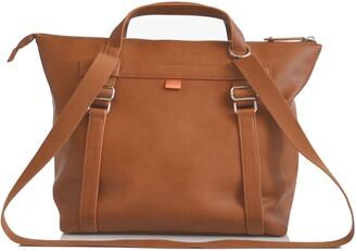 PacaPod Saunton Faux Leather Convertible Diaper Backpack