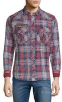 Affliction Leverage Long Sleeve Check Shirt