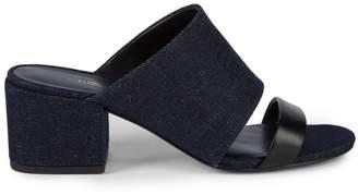 3.1 Phillip Lim Double Strap Block Heel Sandals