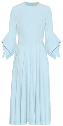 Roksanda Ayres crepe midi dress