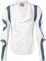 Vivienne Westwood sleeve panel shirt - unisex - Silk/Viscose - 1