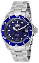 Invicta Genuine NEW Pro Diver Men 40mm Stainless Steel Stainless Steel Blue dial