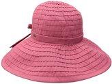 Scala Women's Big Brim Ribbon Hat