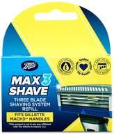 Boots Max3 Shave Three Blade Shaving System Refill