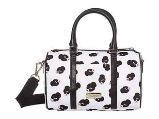 Alice + Olivia Nina Small Printed Nylon Gym Bag (Stace Face) Duffel Bags