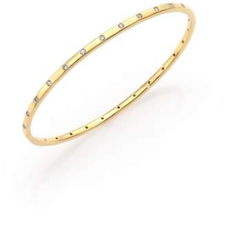 Ippolita Stardust 18K Yellow Gold & 28-Diamond Bangle Bracelet