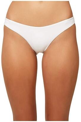 O'Neill Saltwater Solids Classic Pant Bottoms (White) Women's Swimwear
