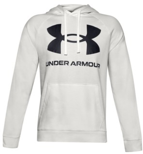 Under Armour Men's Big and Tall Rival Fleece Big Logo Hoodie