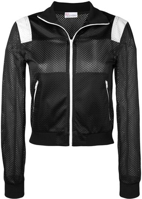 RED Valentino Miss You mesh sports jacket