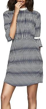 Reiss Nika Geo Printed Dress