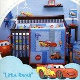 "Disney Lightning McQueen ""Little Racer"" 4 Piece Crib Bedding Set"