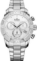 Edox Women's 10406 3 NAIN Royal Lady Chronograph Steel Watch