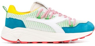 Diadora Colour Block Low-Top Sneakers