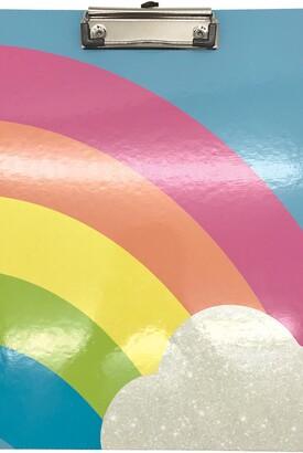 Iscream Rainbow Clipboard, Notepad & Stickers Set