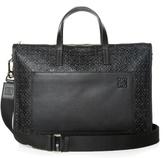 Loewe Toledo logo-debossed leather briefcase