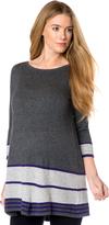 A Pea in the Pod Design History A-line Maternity Sweater