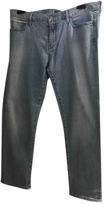 Koral Blue Cotton - elasthane Jeans for Women