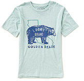 Lucky Brand Big Boys 8-20 The Golden State Short-Sleeve Graphic Tee