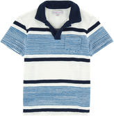 Orlebar Brown Striped terry polo
