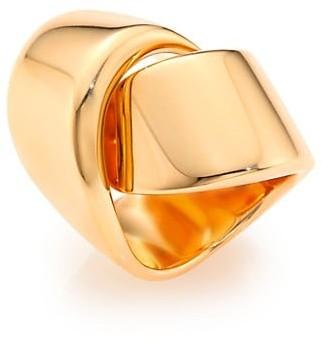 Vhernier Abbraccio 18K Rose Gold Ring