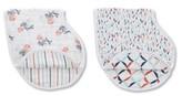 Aden Anais Infant Aden + Anais X Tea Collection 2-Pack Burpy Bibs
