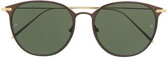 Linda Farrow Wayfarer-Frame Sunglasses