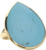 Ippolita 18k Teardrop Rock Candy Turquoise Ring