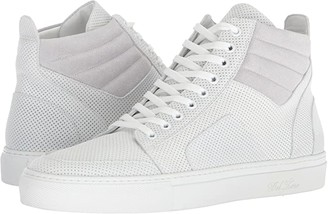 Del Toro High Top Boxing Sneaker (White) Men's Lace up casual Shoes