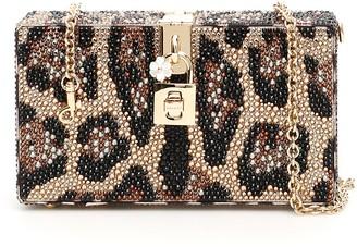 Dolce & Gabbana Animal Print Box Clutch bag