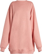 Acne Studios Yanin oversized cotton-jersey sweatshirt