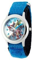 Disney Boy's Marvel Avengers: Age of Ultron Stainless Steel Watch - Blue
