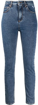 MSGM Faded Skinny Jeans