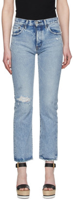 Moussy Blue Hesperia Straight Jeans