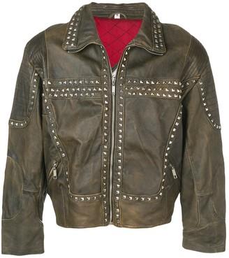 A.N.G.E.L.O. Vintage Cult 1980's studded biker jacket