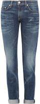 Rag & bone The Dre cropped mid-rise slim-fit boyfriend jeans