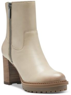 Lucky Brand Women's Bajax Lug-Bottom Booties Women's Shoes