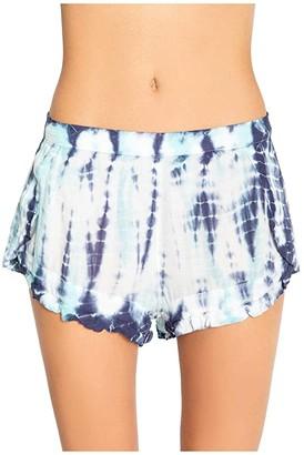 PJ Salvage Morning Sunshine Shorts (Aqua) Women's Pajama