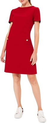 Hobbs Petra Short Sleeve Shift Dress