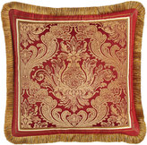 "Legacy San Marino Fringed Pillow, 20""Sq."