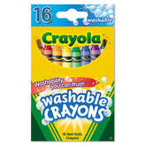 Crayola Washable Regular Crayons