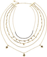Camilla Beaded Neclace W/ Chains