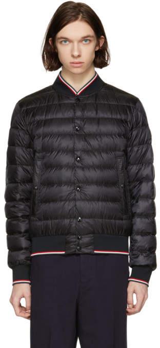 Moncler Black Down Aubry Jacket