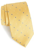 Nordstrom Men's Graphic Dots Silk Tie