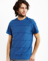 Farah Duchy Short Sleeve T-Shirt Blue